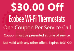 $30.00 off select wi-fi thermostats